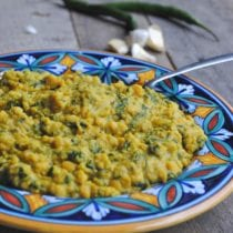 spinach chana dal 210x210 - Spinach Chana Dal: An Indian Recipe with Lentils