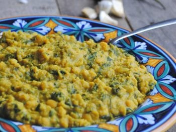 Spinach Chana Dal: An Indian Recipe with Lentils