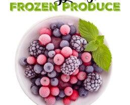 8 Ways I Use Frozen Produce