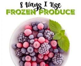 8 Ways I Use Frozen Produce on 100 Days of Real Food