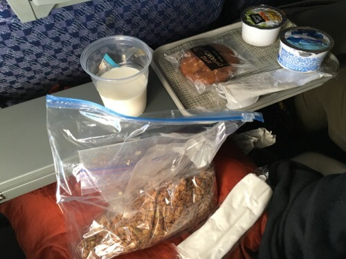 Airplane Food on 100 Days of Real Food