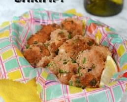Easy Breaded Shrimp (Baked)