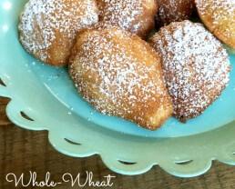 Whole-Wheat Madeleines!