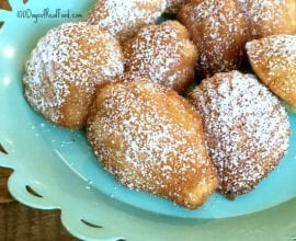 Whole-Wheat Madeleines on 100 Days of Real Food