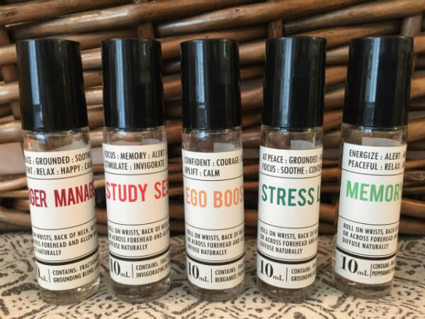 Essential Oils for Emotional Support + a Giveaway! on 100 Days of Real Food
