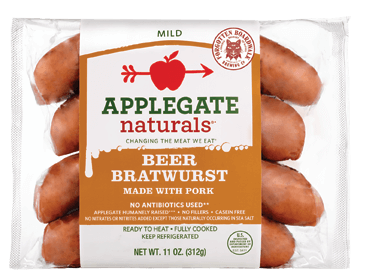 Applegate Dinner Sausages - New Real Food Snacks + Other Products (hitting shelves soon!) on 100 Days of Real Food
