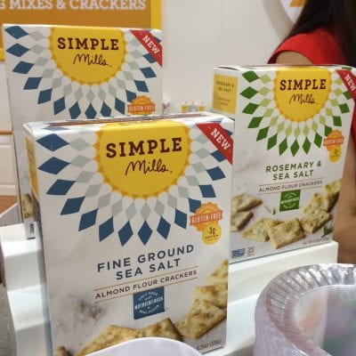 Simple Mills Crackers - Kiran's Favorite Real Food Snacks on 100 Days of Real Food
