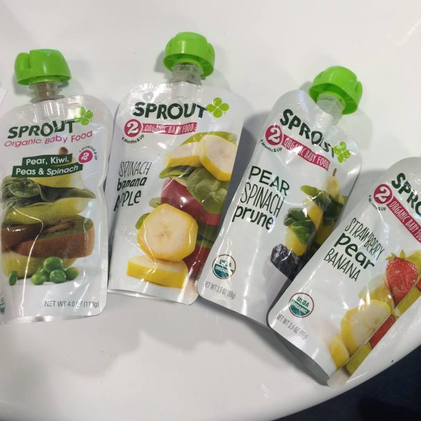 Sprout Organic Pouches - New Real Food Snacks + Other Products (hitting shelves soon!) on 100 Days of Real Food