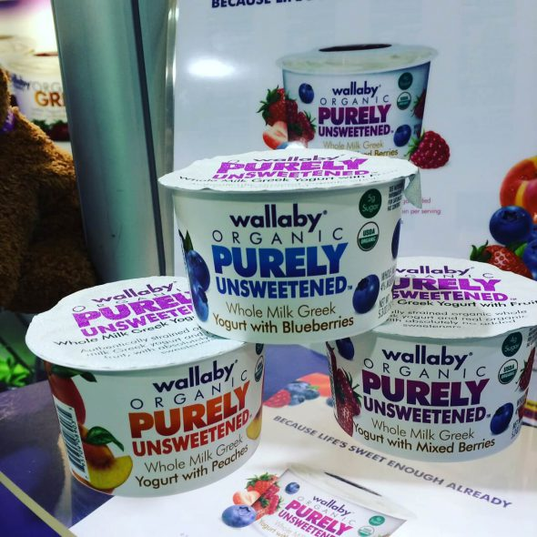 Wallaby Purely Unsweetened - New Real Food Snacks + Other Products (hitting shelves soon!) on 100 Days of Real Food