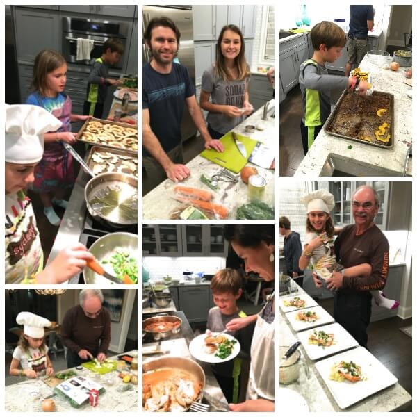 Blue Apron Cookoff on 100 Days of Real Food