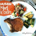 Braised Cajun Pork Chops on 100 Days of Real Food