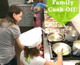 The Cook-Off: A FUN Way to Get Your Entire Family Cooking Together!