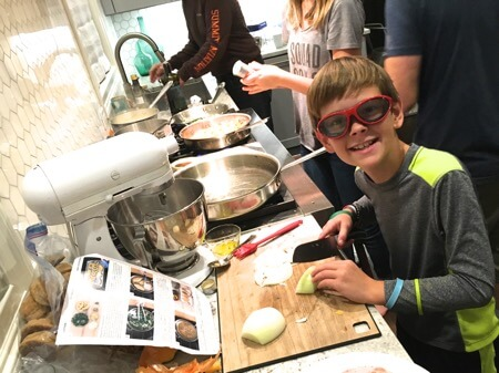 Cookoff with Blue Apron on 100 Days of Real Food