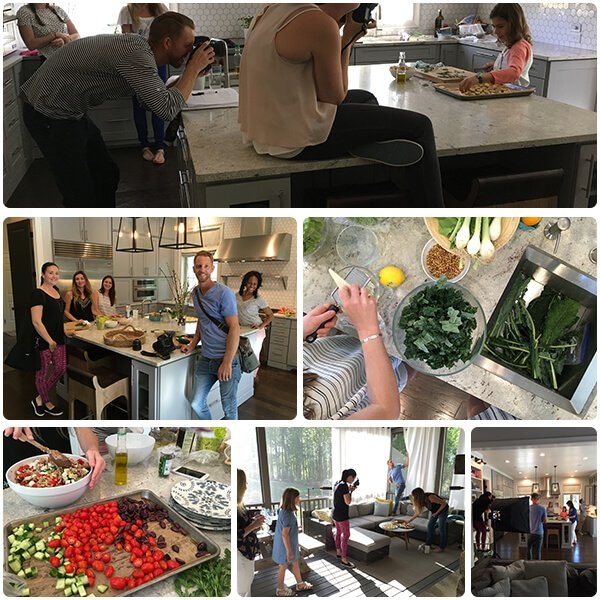 Behind the Scenes of a Cookbook Photo Shoot on 100 Days of Real Food