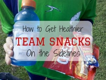 Healthy Team Snacks