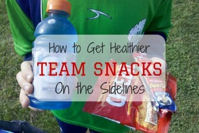 Healthy Team Snacks