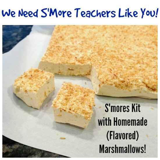 Homemade Smores Kit Teacher Kit on 100 Days of Real Food