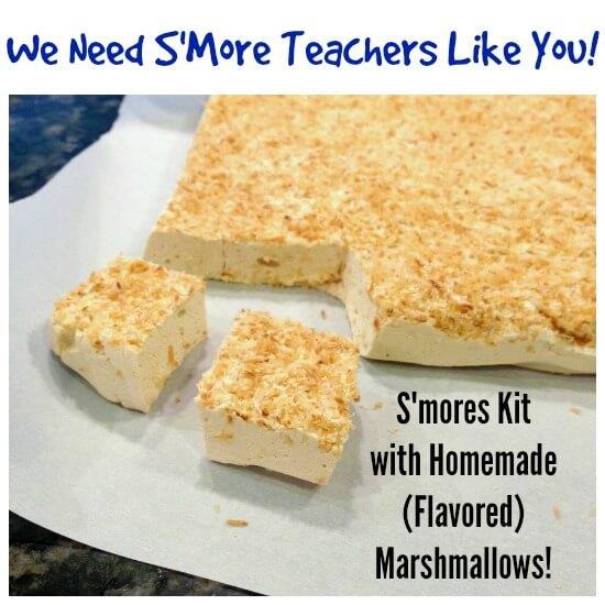 Homemade Smores Kit Teacher Kit on 100 Days of Real Food