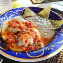 Huevos Rancheros in Mexico on 100 Days of Real Food