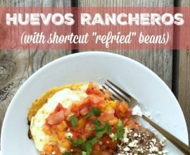 Huevos Rancheros on 100 Days of Real Food