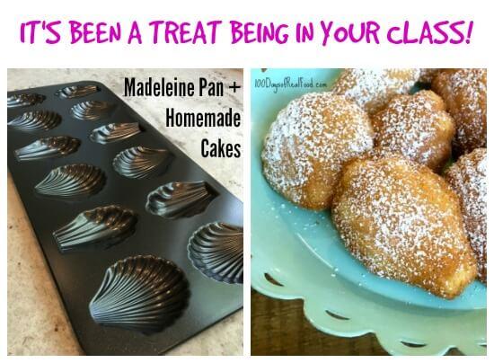 Madeleine Kit Teacher Gift on 100 Days of Real Food