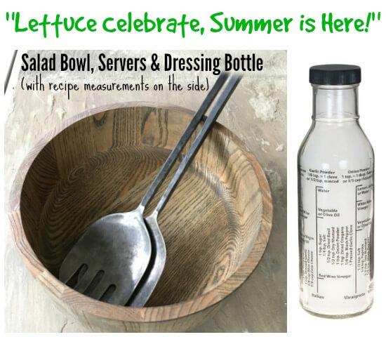 Salad Kit Teacher Gift on 100 Days of Real Food