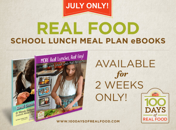 School Lunch Meal Plans for Sale - July Only!