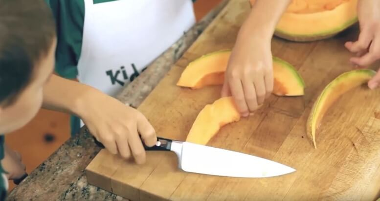 The Best Foods for Kids to Cut with a Sharp Knife from 100 Days of Real Food