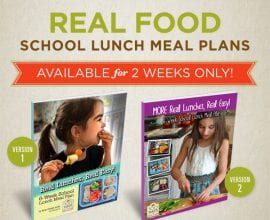 School Lunch Meal Plans - July Only!