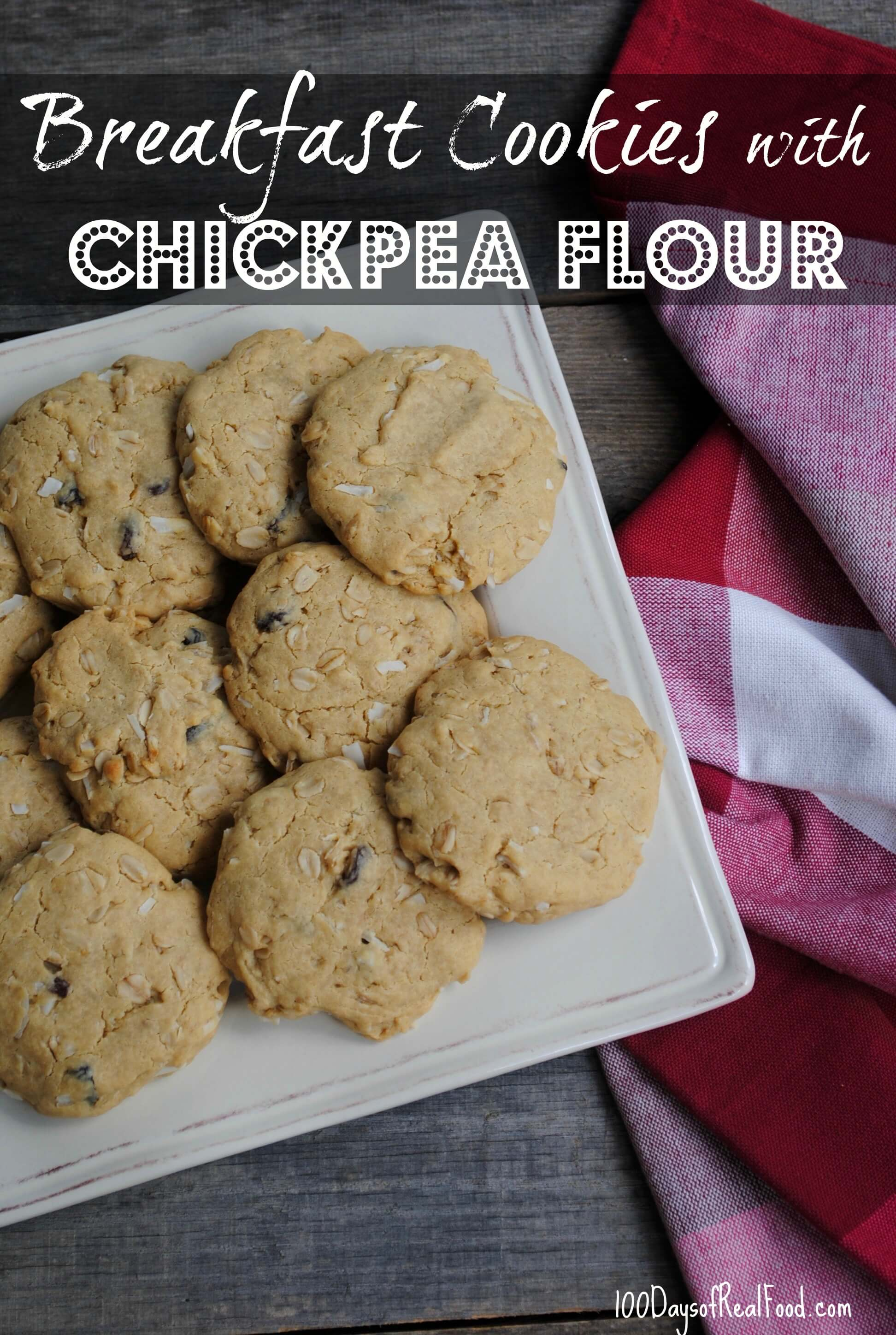 Breakfast Cookies With Chickpea Flour