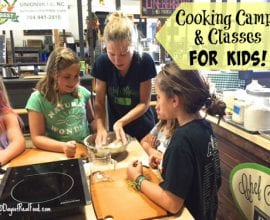 Cooking Camps on 100 Days of Real Food