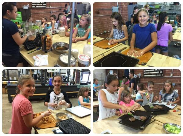 Kids Cooking Camps on 100 Days of Real Food