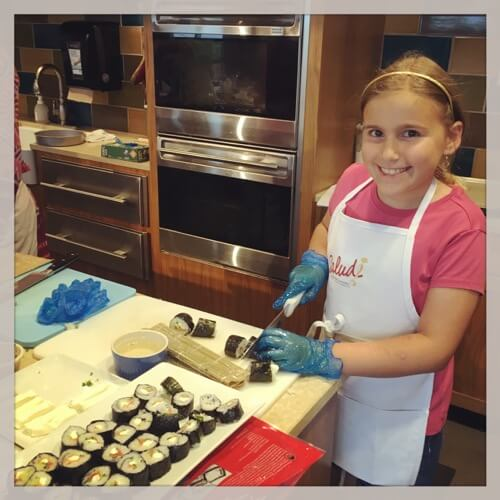 Kids Cooking Class for Kids on 100 Days of Real Food