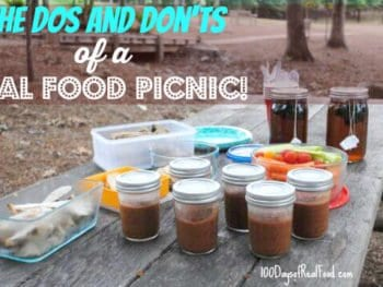 How to Pack a Real Food Picnic