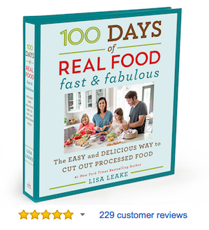 My cookbooks 100 days of real food fast and fabulous cookbook forumfinder Choice Image