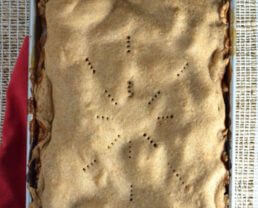 Sheet Pan Apple Pie Recipe (with whole-wheat crust)