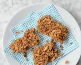 Whole-Wheat Homemade Cereal Bars (with black walnuts)