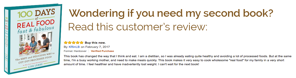 Cookbook 2 w/ Review