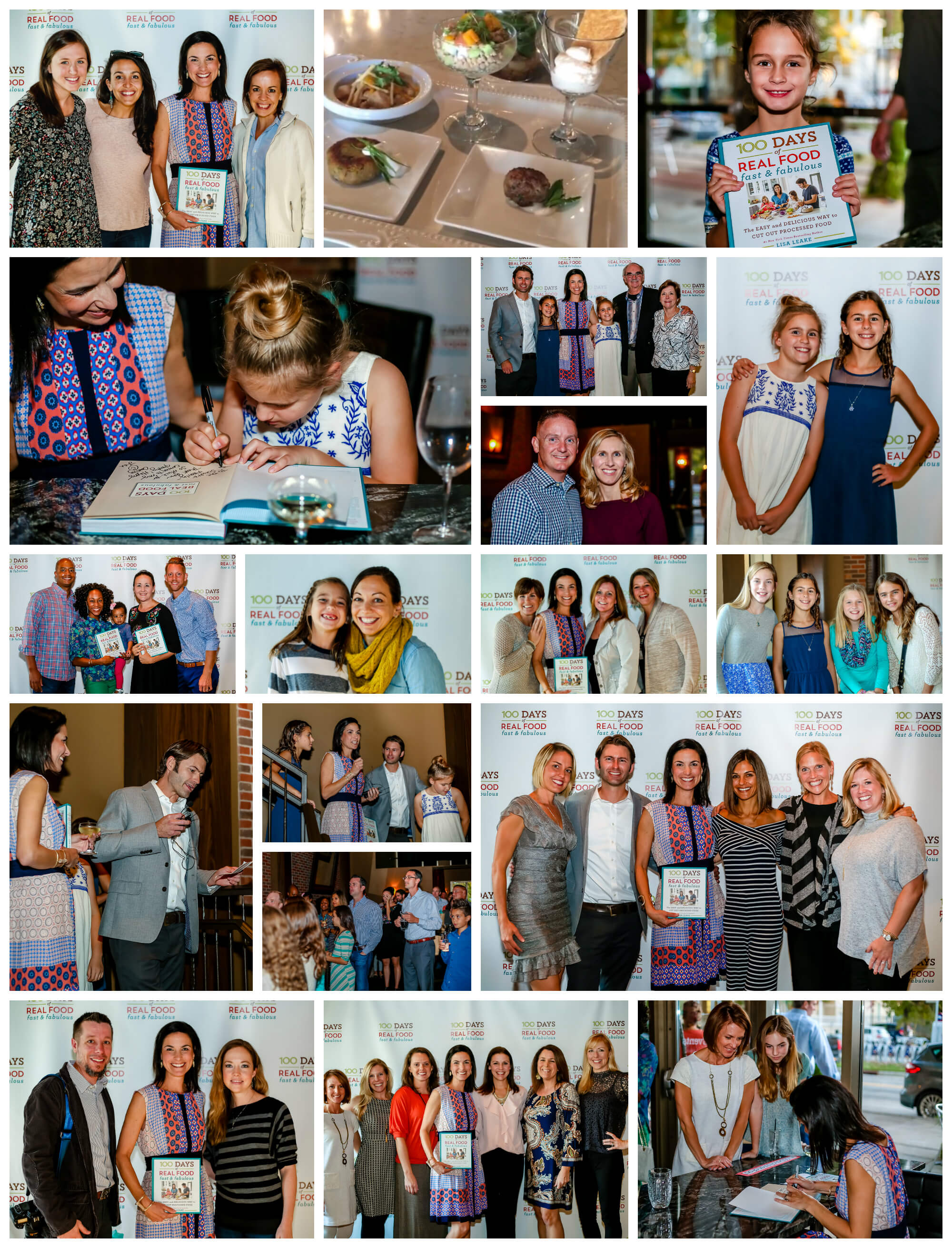 100 Days of Real Food: Fast & Fabulous New Cookbook Launch Party at Passion8 in Charlotte, NC