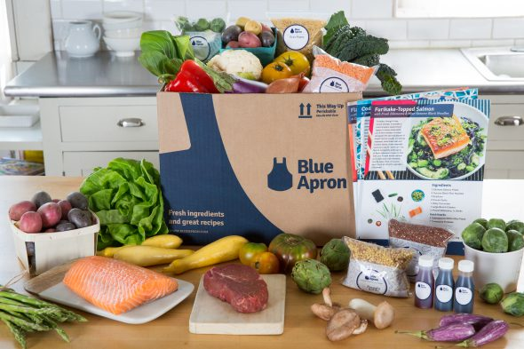 Blue Apron on 100 Days of Real Food