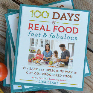 My Book is Here thumbnail 311x311 - 100 Days of Real Food: Fast & Fabulous