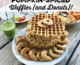 Whole-Grain Pumpkin Waffles (and Donuts)
