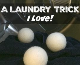 A Real Laundry Trick I Love on 100 Days of Real Food