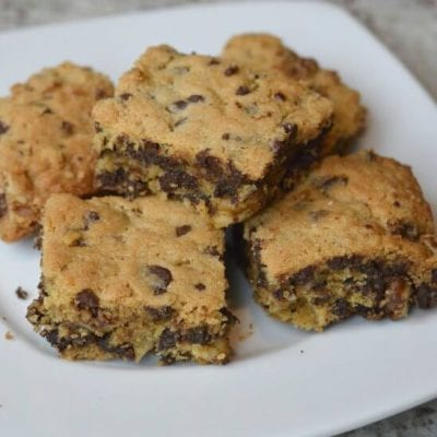 Holiday Pot Luck Ideas on 100 Days of Real Food - Blondies