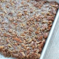 Maple Pecan Bars on 100 Days of Real Food