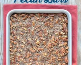 Maple Pecan Bars