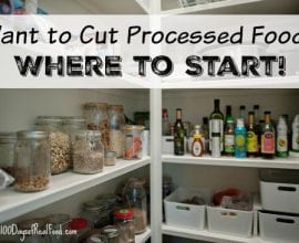 Want to cut processed food? Where to start on 100 Days of Real Food