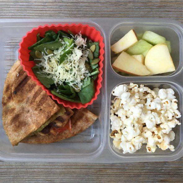 vegetarian school lunch