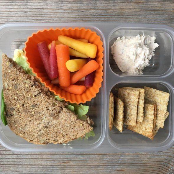 homemade school lunch