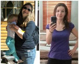 70 Pound Weight Loss Through Eating Real Food on 100 Days of Real Food